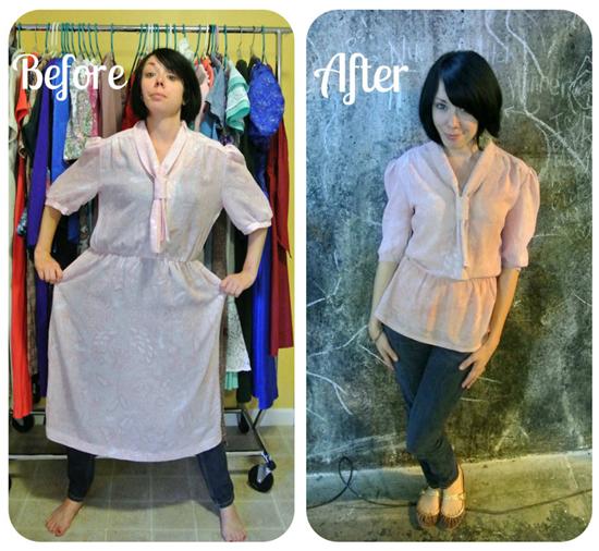 Turkálós ruhákból készít trendi holmikat egy nő - galéria