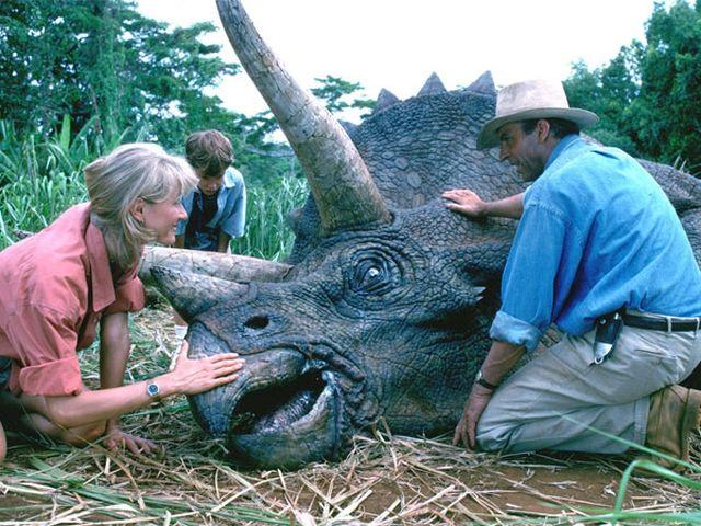 Részlet a Jurassic Park 1. filmből - No, lám, hát nem ugyanaz a dinó?!