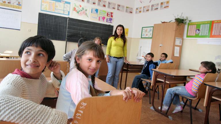 Csenyétei iskolások (Fotó: Leéb Ádám)
