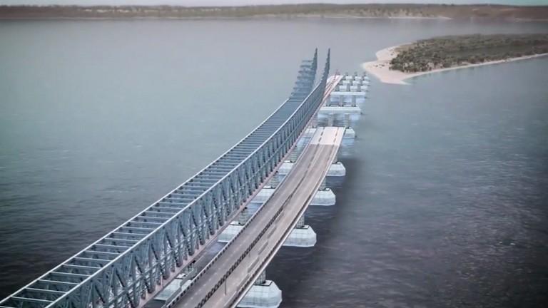 Ilyen lesz Oroszország új hídja! Elképesztő!