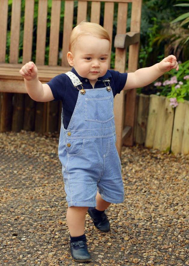 György herceg egyéves - Isten éltesse, kis királyi fenség!