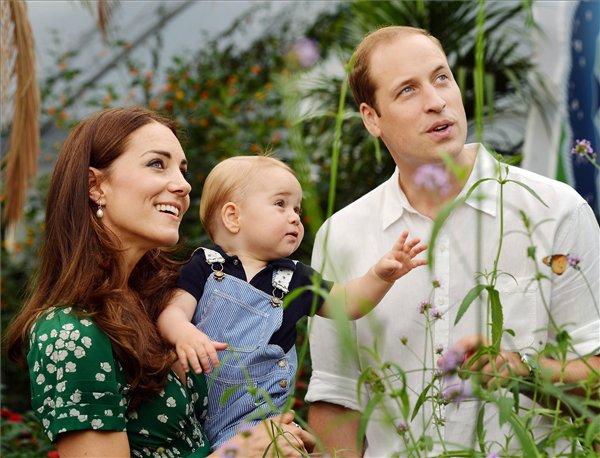 György herceg egyéves – Isten éltesse, kis királyi fenség!