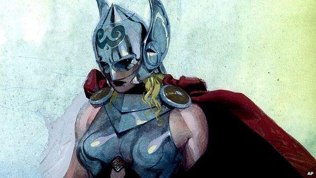 Férfiből női Thor - Forrás: bbc.com