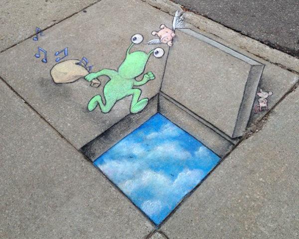 Street art, amit a gyerekek is értékelnek