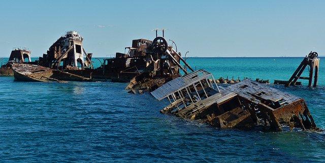 Amikor az ember beavatkozik a természetbe - hajóroncsok