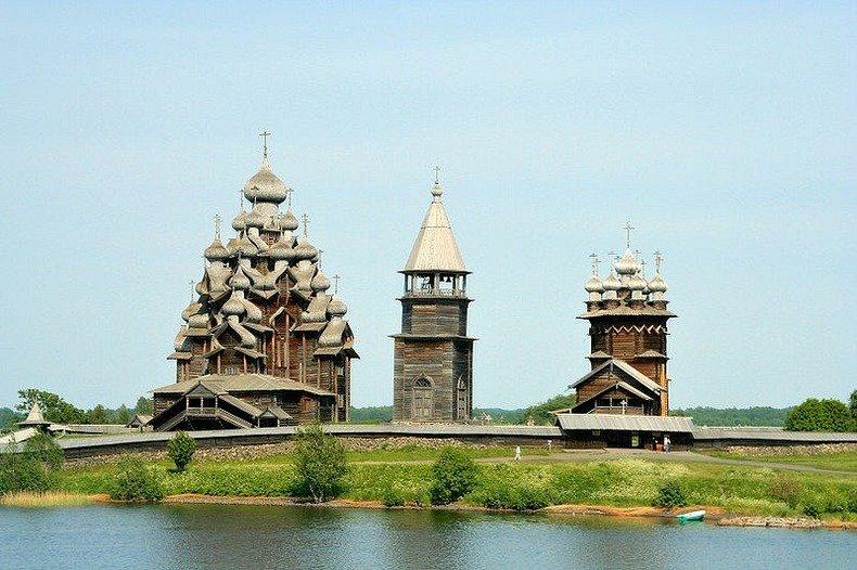 Fából készült templomok Oroszországban