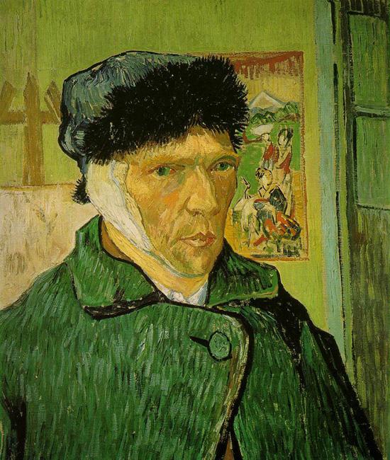 Van Gogh önarcképe bekötött füllel