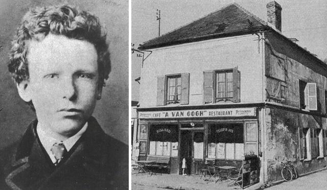 A fiatal Van Gogh és a kávéház ahol később élt és dolgozott
