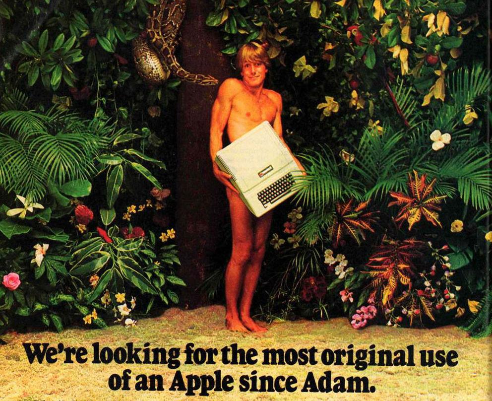 Részlet egy 79-es Apple-reklámból