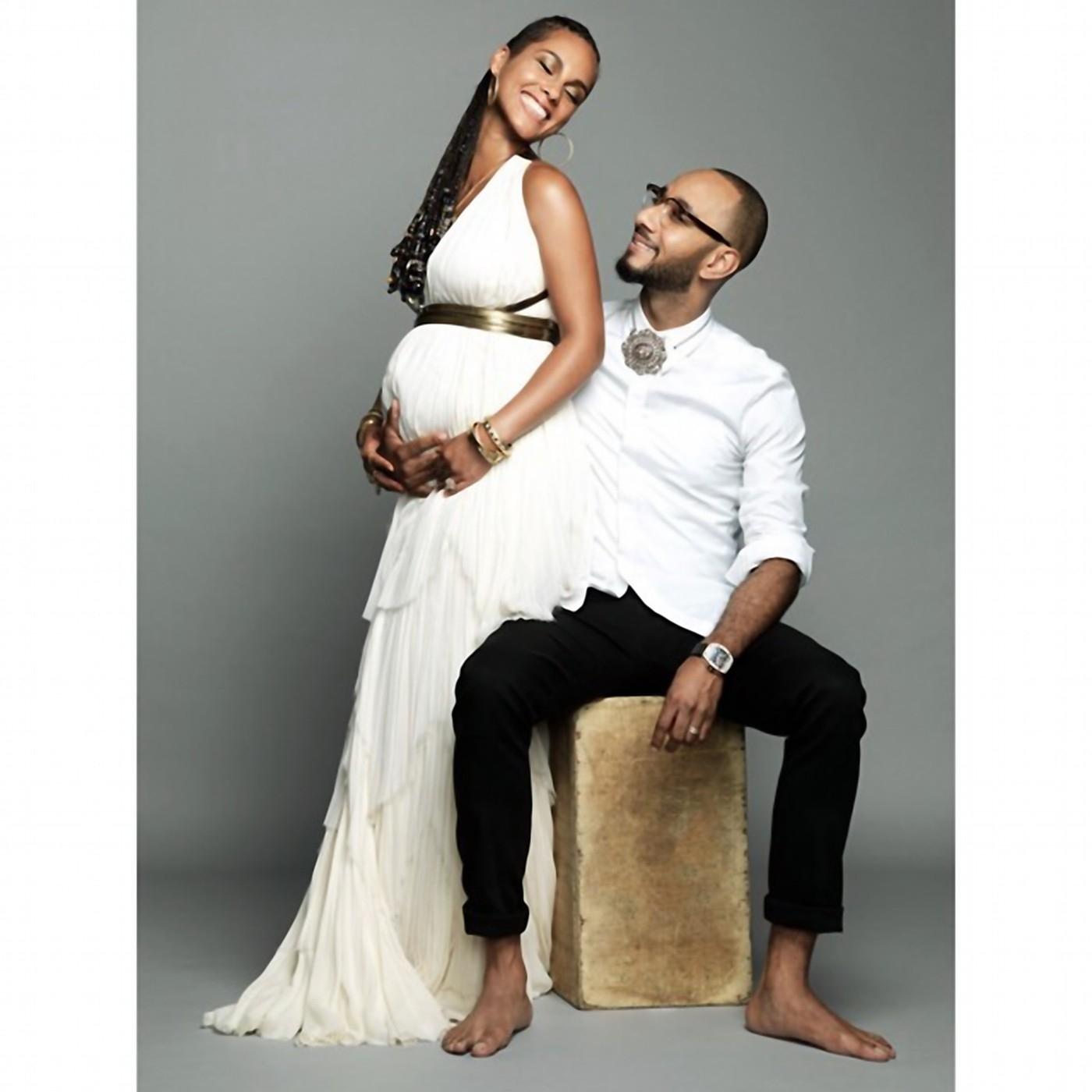 Második gyermekével várandós Alicia Keys - fotó