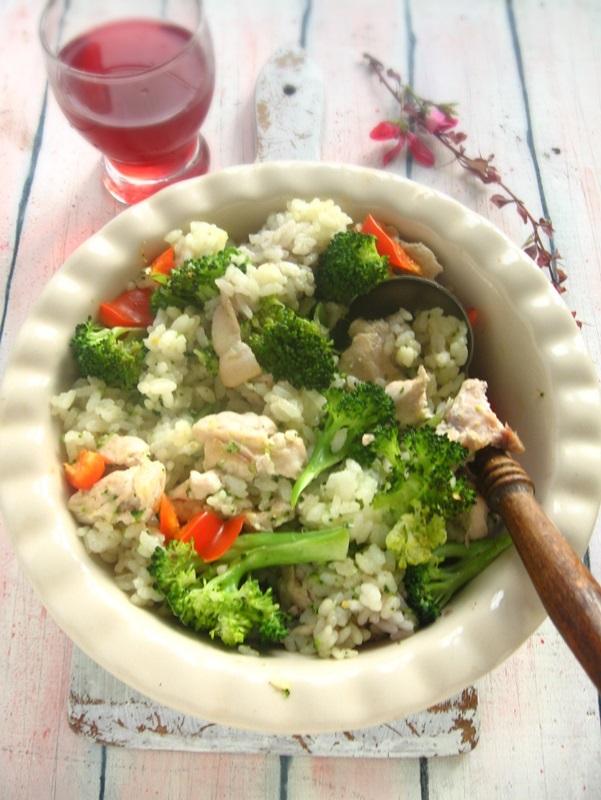 Mit főzzek ma vacsira? Zöldséges rizses húst!