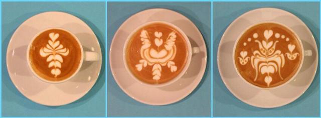 Művészet a kávéscsészében