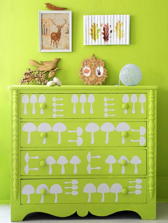 Olcsó és dekorativ: stencil a gyerekszobában