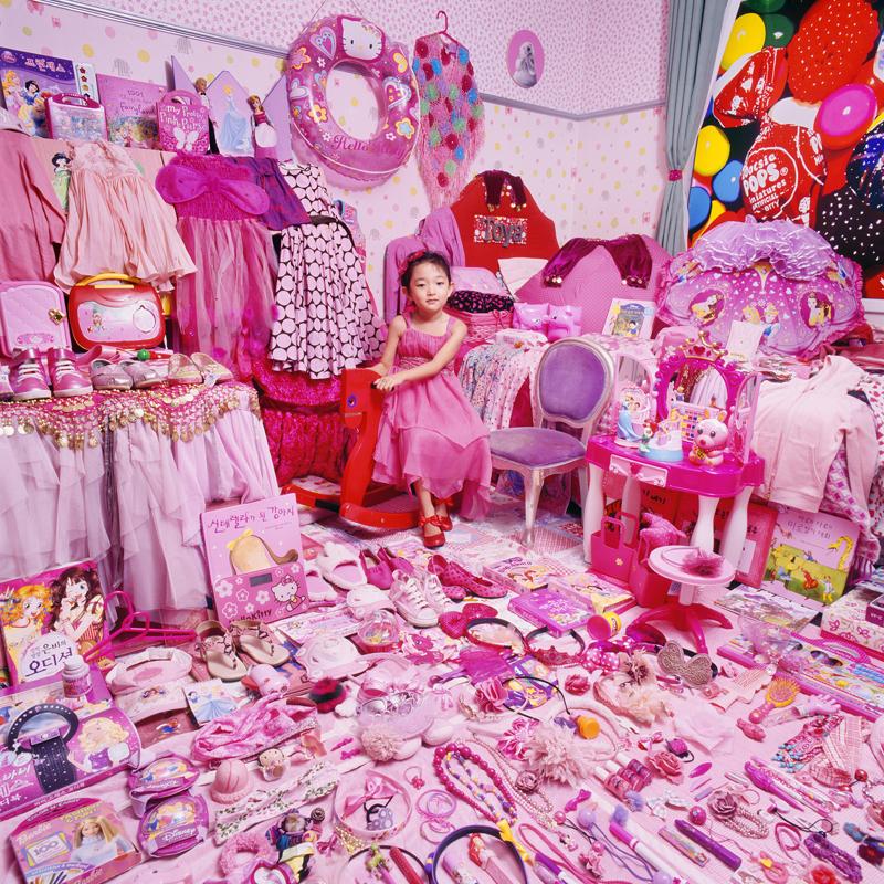 A kislányok színe a rózsaszín