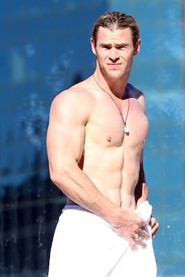 Chris Hemsworth, Thor maga