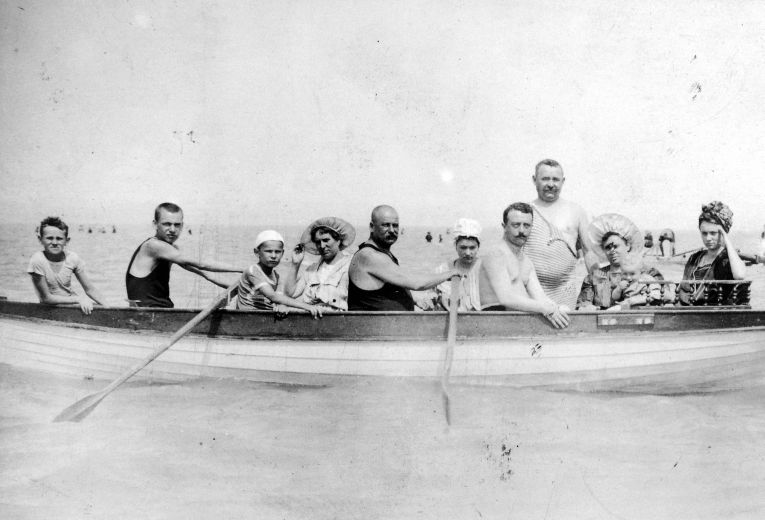 Együtt a család/Fortepan, 1910