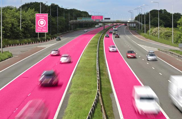 Külön sávot kaphatnak a női autóvezetők az utakon?