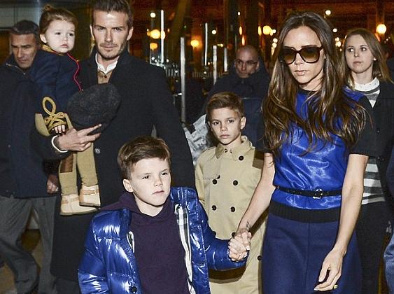 Beckhamék legyőzték Kardashianékat