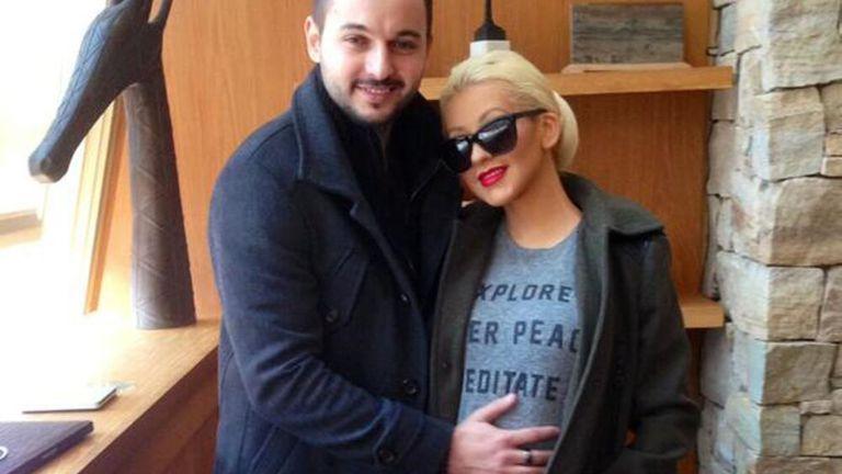 Megszületett Christina Aguilera második gyermeke