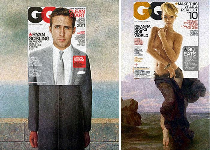Ryan Gosling és Rihanna