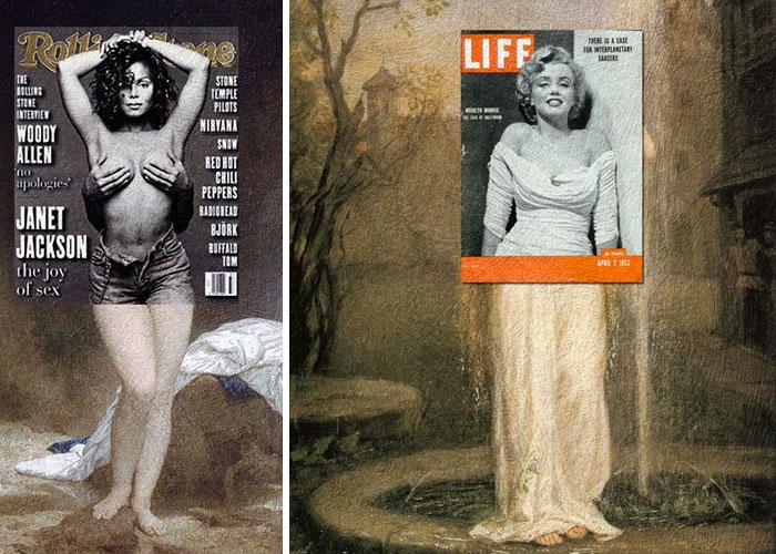 Janet Jackson és Marilyn Monroe