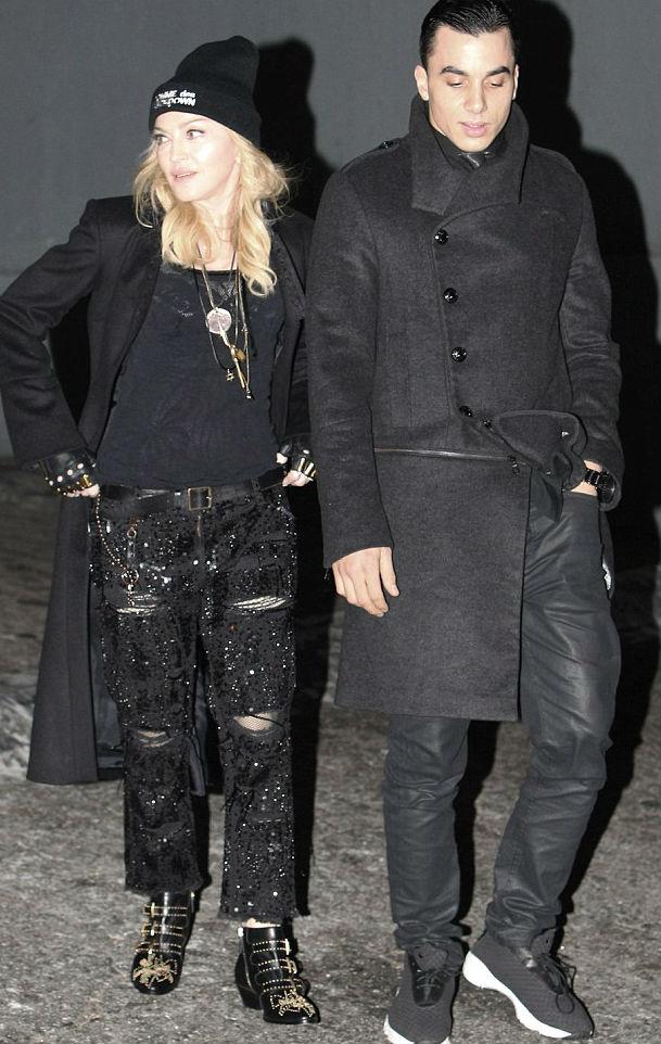Madonna szakított a 26 éves pasijával