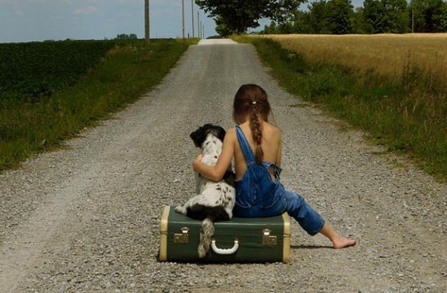 Megható, vicces, cuki: kislány kutyával