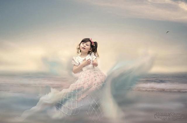 Varázslatos fotókat készít végtaghiányos kislányáról az anya - galéria