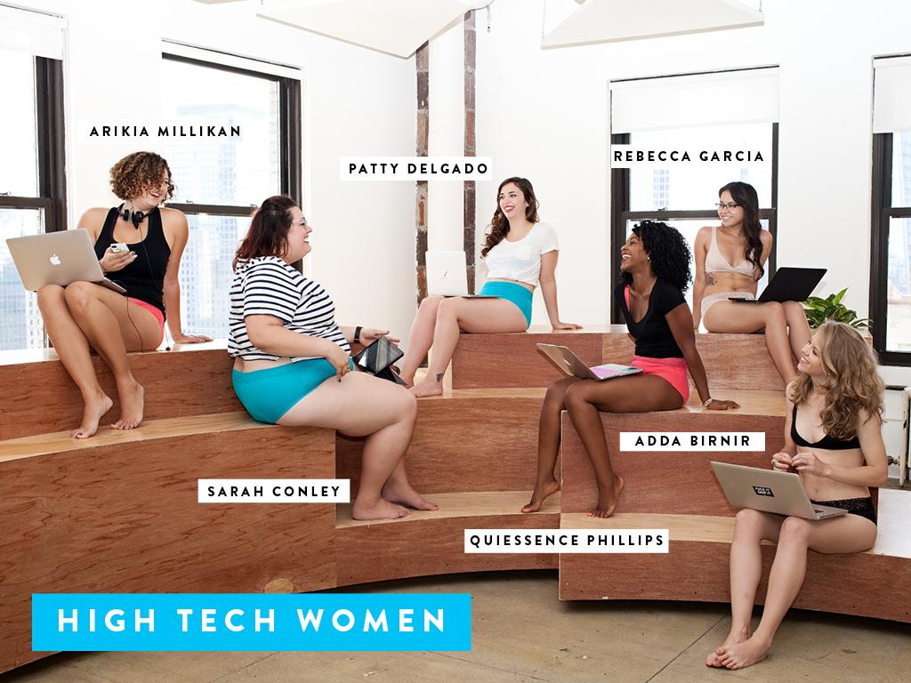 Vetkőzhetnek-e okos nők fehérnemű reklámban?