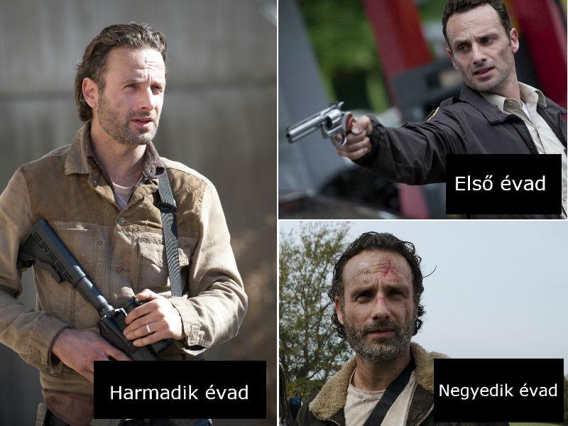 Ennyit változtak a The Walking Dead szereplői 4 év alatt