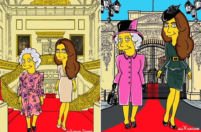 Katalin hercegné rajzfilmfigura lett