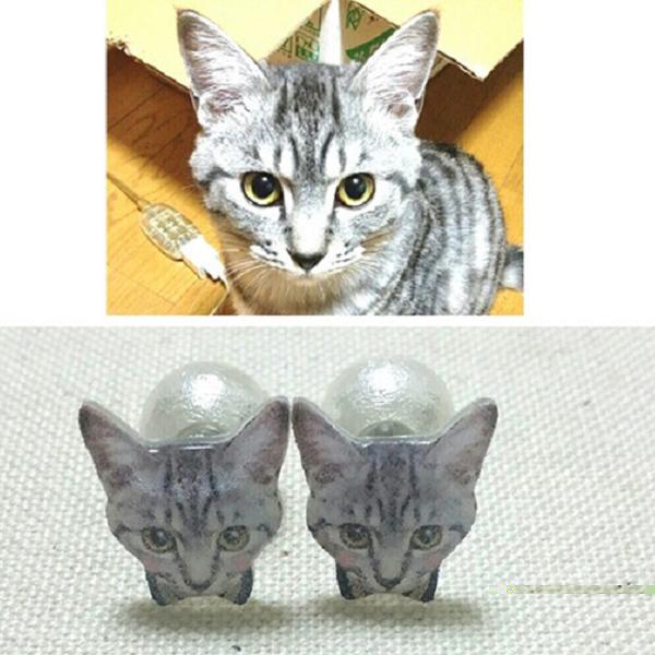 A te macskádból is fülbevalót csinál egy művész
