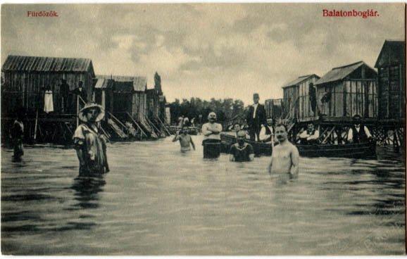 Elképesztő képek: Ilyen volt a Balaton régen