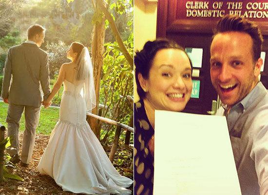 Keith and Michelle 2011-ben a házasságuk napján, és most, a váláskor