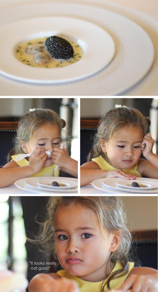 Ilyen képeket vág egy 4 éves, ha bűndrága ételeket kóstol - fotók