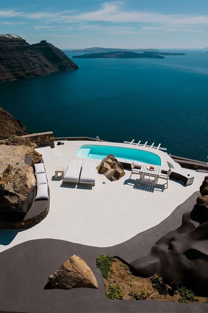 10 elképesztő tengerre néző villa Görögországban