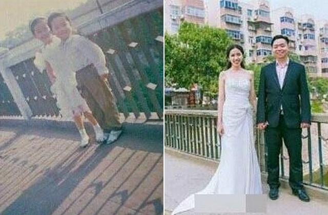Gyerekszerelmét vette feleségül