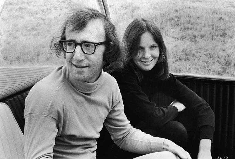 Woody Allen és Diane Keaton a Hétalvó c. filmben (1973)