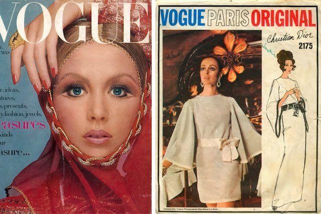 1969, december - Vogue címlapon Afganisztán