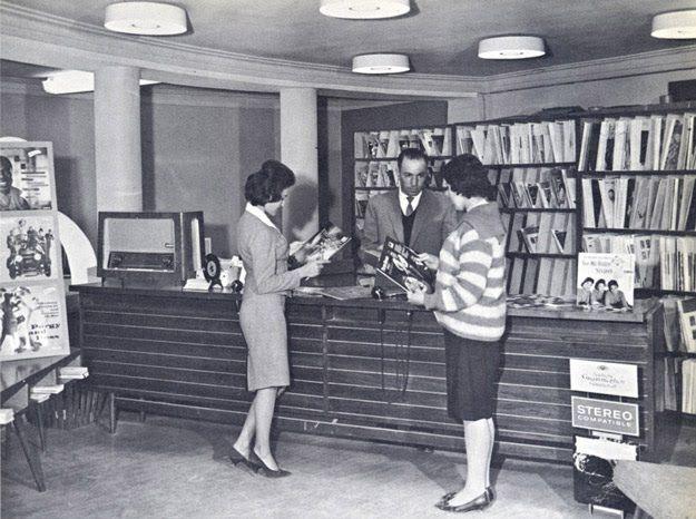'60-as évek - lemezbolt Kabulban
