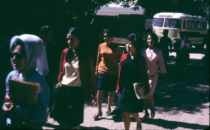 Utcai divat a '60-as, '70-es években Kabulban