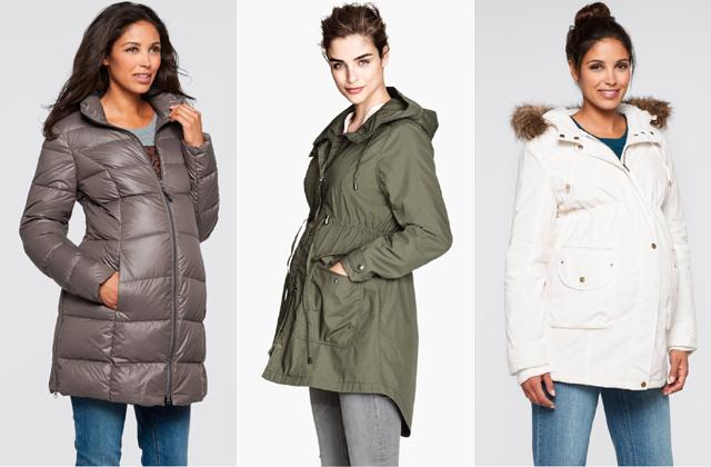 Steppelt és fehér: Bon Prix, zöld parka: H&M