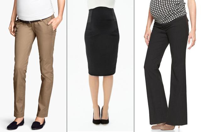 Teveszín nadrág: H&M, szoknya: Mamas&Papas, fekete nadrág: GAP