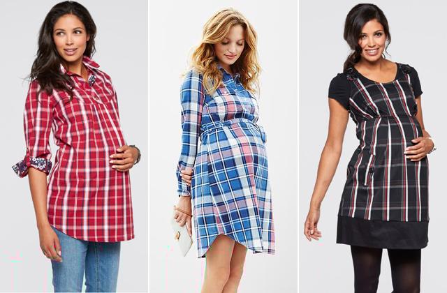 Piros ing és ruha: Bon Prix, kék tunika: H&M