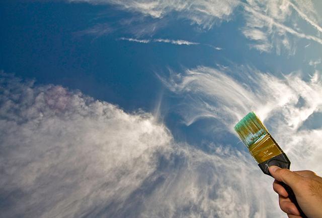 Lenyűgöző képek: felhőkkel játszó emberek