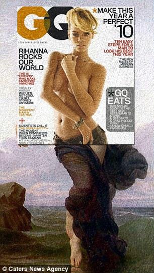 Festményekre kerültek a címlapok - galéria
