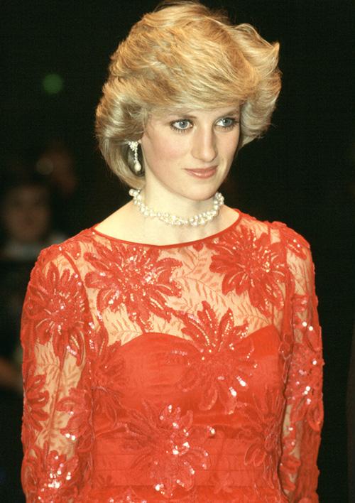 Diana hercegnő norvégiai látogatásán
