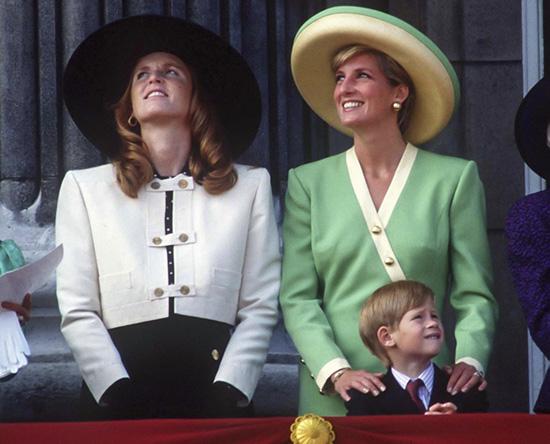 Harry és Diana az ünnepségen