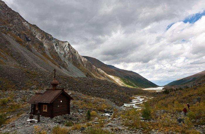 Orosz kápolna majdnem 5000 méteren