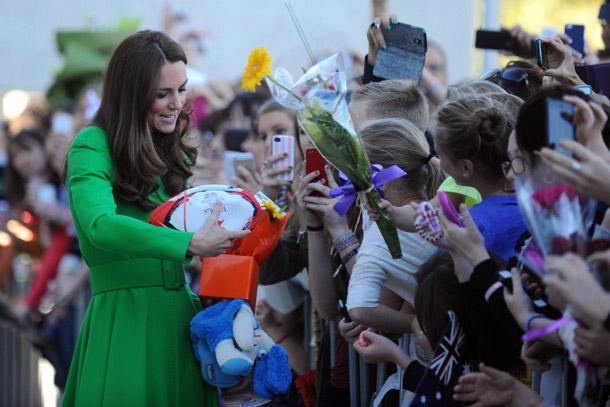 Katalin hercegné bejelentést tett